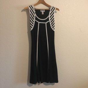 Joseph Ribkoff Black and White Dress Size 6